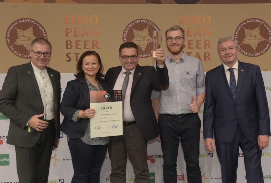 ΒΕΡΓΙΝΑ Weiss: η ελληνική μπύρα απ' τη Θράκη με τις μεγαλύτερες διεθνείς διακρίσεις (15/11/2018)